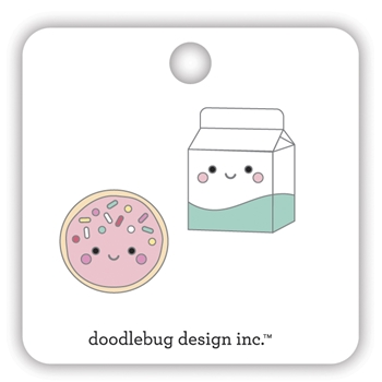 Doodlebug COOKIES AND CREAM Collectible Enamel Pins 7109