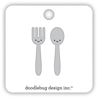 Doodlebug LET'S EAT Collectible Enamel Pins 7108
