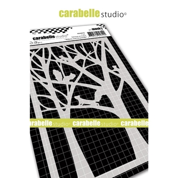 Carabelle Studio SQUIRREL TREES Mask ma60079