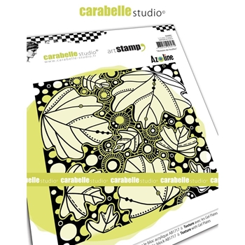 Carabelle Studio HiSTORY OF LEAVES Cling Stamp sc60001