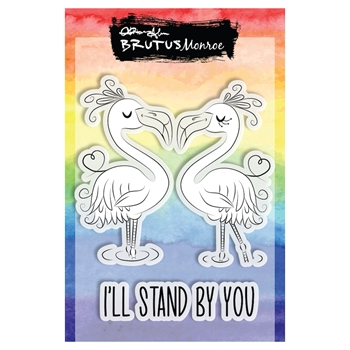 Brutus Monroe STAND BY YOU Clear Stamps bru2693