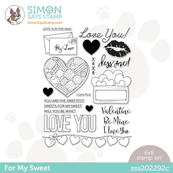 Simon Says Clear Stamps FOR MY SWEET sss202292c **
