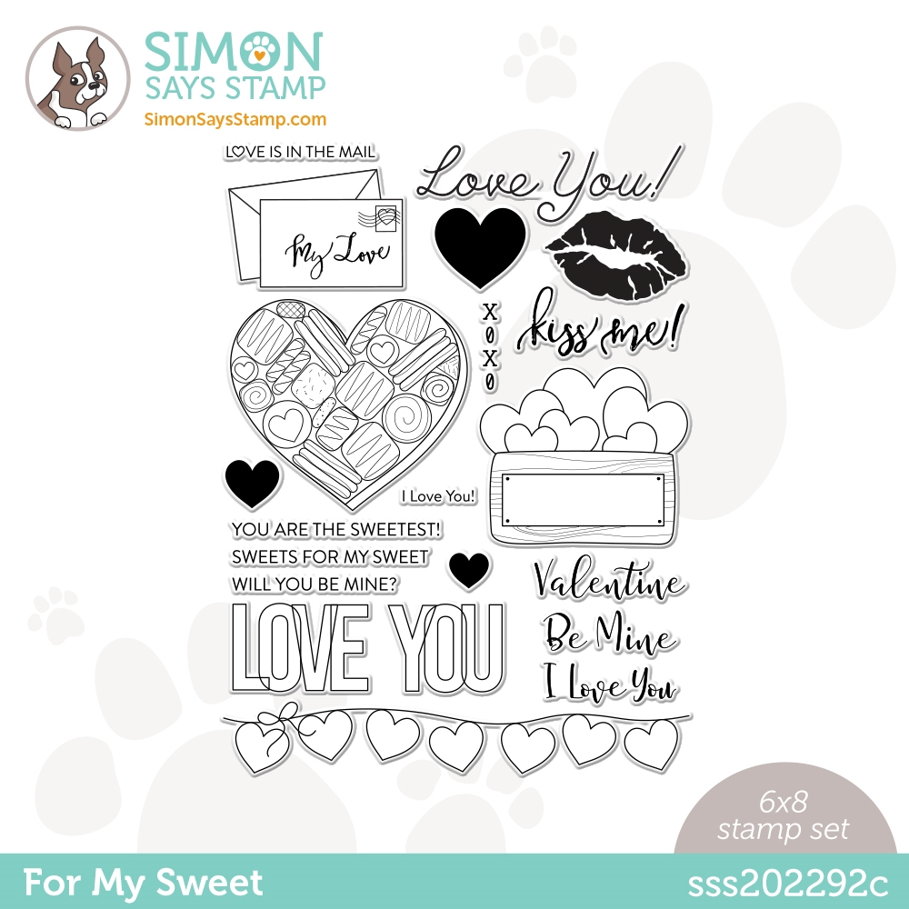 Simon Says Clear Stamps FOR MY SWEET sss202292c zoom image