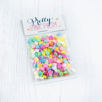 Pretty Pink Posh CUPCAKE Clay Sprinkles
