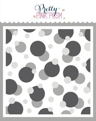 RESERVE Pretty Pink Posh LAYERED BOKEH Stencils Preview Image
