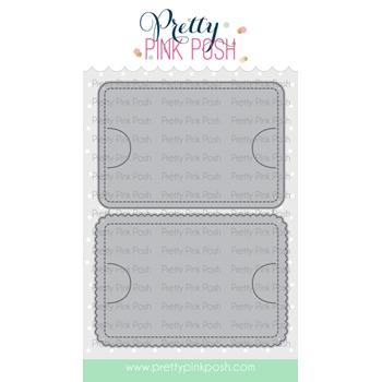 Pretty Pink Posh STITCHED GIFT CARD HOLDER Dies