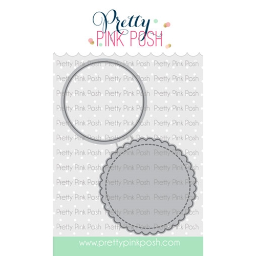 Pretty Pink Posh VALENTINE'S CIRCLES Dies Preview Image