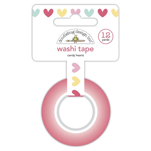 Doodlebug CANDY HEARTS Washi Tape 7087 Preview Image