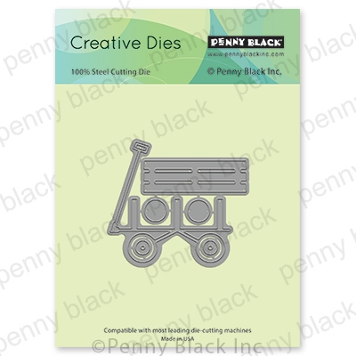 Penny Black WAGON RIDE Thin Metal Creative Dies 51 646 zoom image