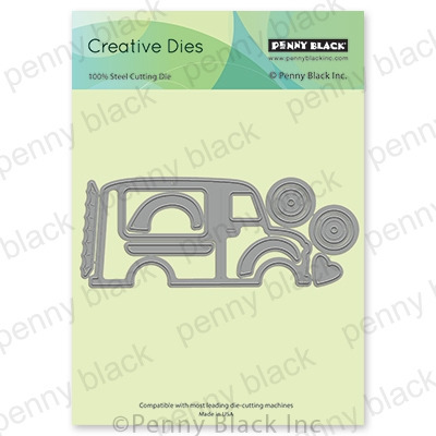 Penny Black IS COMING Thin Metal Creative Dies 51 641 Preview Image
