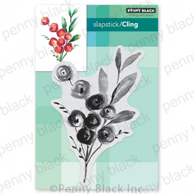 Penny Black Cling Stamp ROSA 40 741 Preview Image