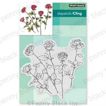 Penny Black Cling Stamp FRESH CUT 40 729