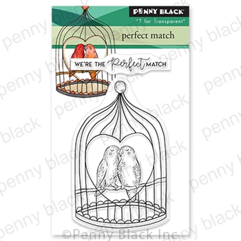 Penny Black Clear Stamps PERFECT MATCH 30 793