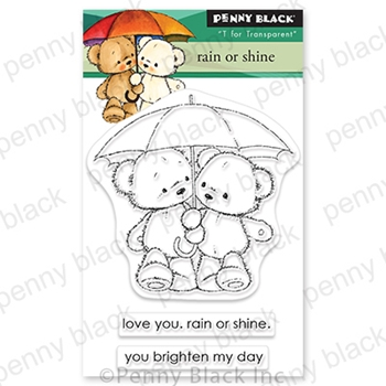 Penny Black Clear Stamps RAIN OR SHINE 30 791