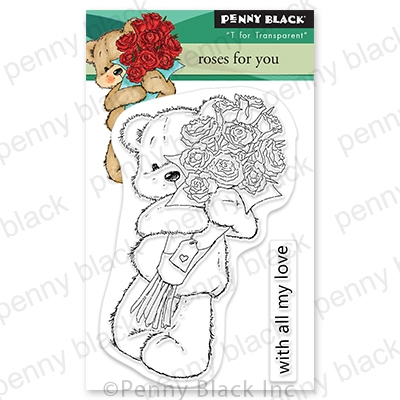 Penny Black Clear Stamps ROSES FOR YOU 30 787 zoom image
