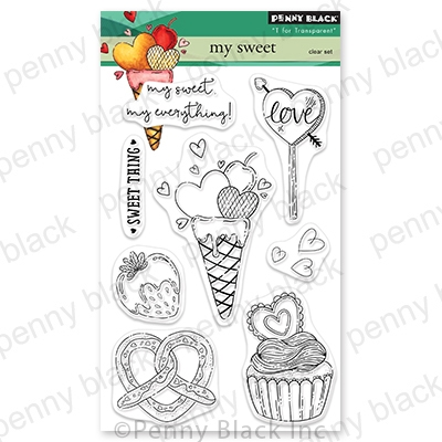 Penny Black Clear Stamps MY SWEET 30 785 zoom image