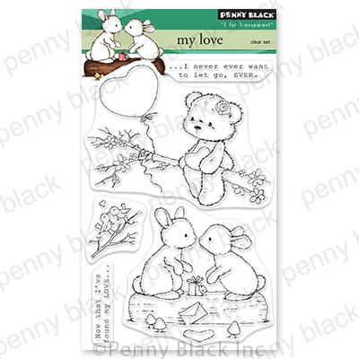 Penny Black Clear Stamps MY LOVE 30 783 zoom image