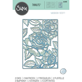 Sizzix FLORAL LATTICE Thinlits Dies 665082