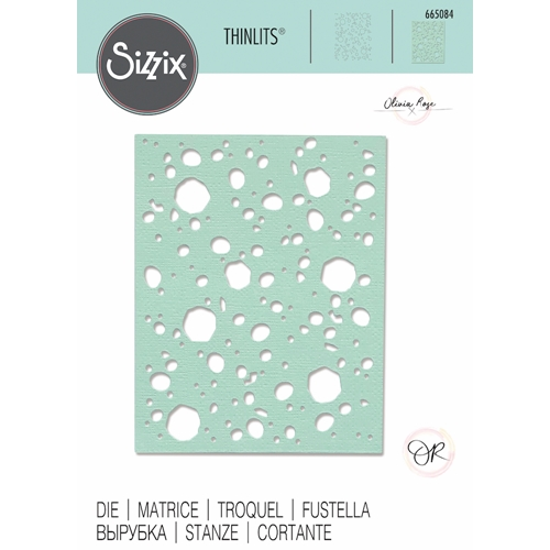 Sizzix LUNAR MASK Thinlits Die 665084 Preview Image
