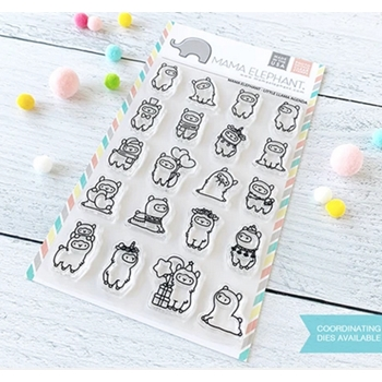 Mama Elephant Clear Stamps LITTLE LLAMA AGENDA