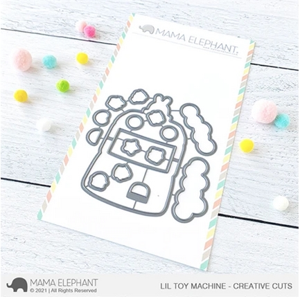 Mama Elephant LIL TOY MACHINE Creative Cuts Steel Dies Preview Image