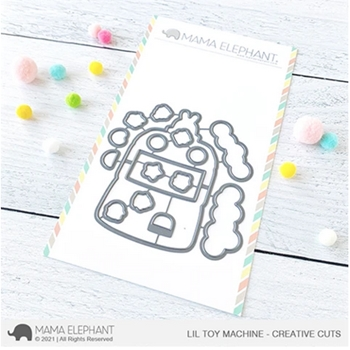 Mama Elephant LIL TOY MACHINE Creative Cuts Steel Dies
