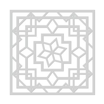 Hero Arts Stencil ART DECO LOTUS SA160