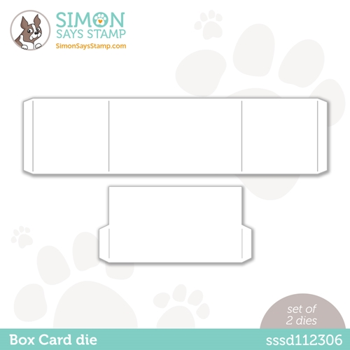 Simon Says Stamp BOX CARD Wafer Dies sssd112306 Love You Too Preview Image