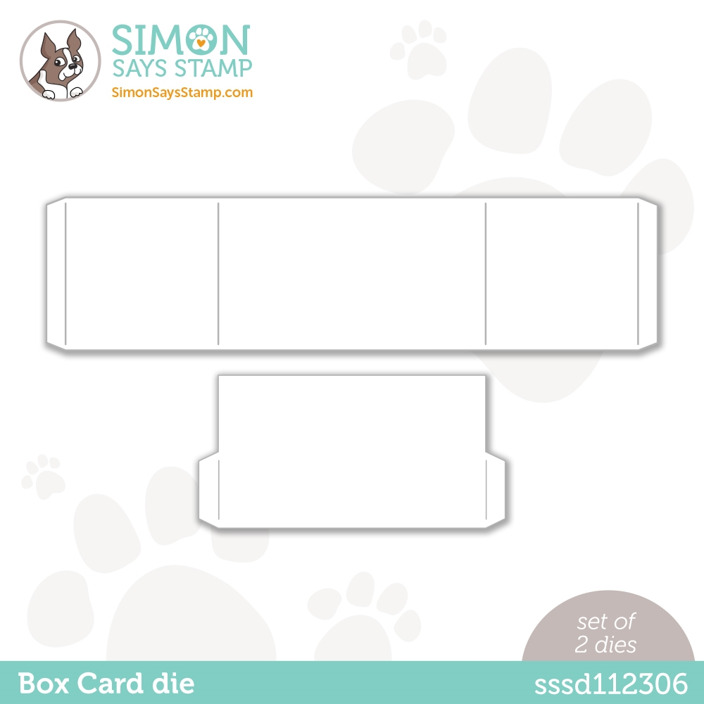 Simon Says Stamp BOX CARD Wafer Dies sssd112306 Love You Too zoom image