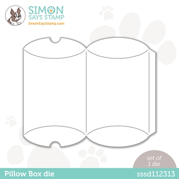 Simon Says Stamp PILLOW BOX Wafer Die sssd112313 Love You Too