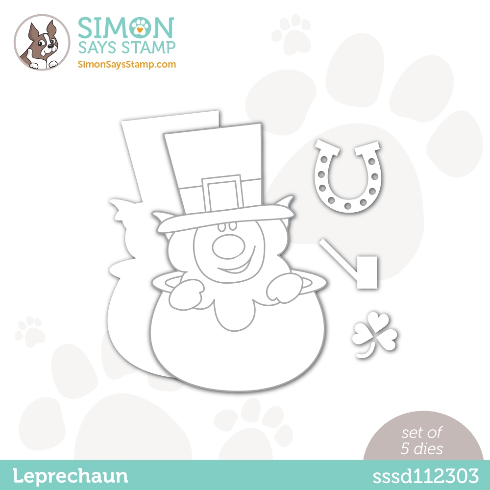 Simon Says Stamp Leprechaun Die set