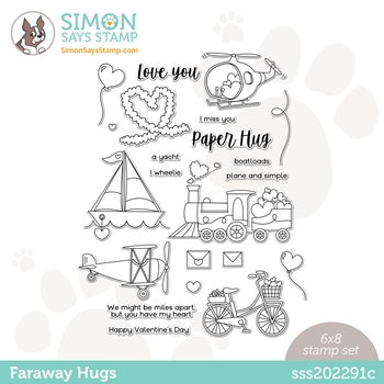 Simon Says Clear Stamps FARAWAY HUGS sss202291c
