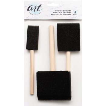 Art Supply Basics SPONGE BRUSHES 34006054