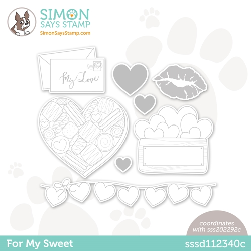 Simon Says Stamp FOR MY SWEET Wafer Dies sssd112340c Preview Image