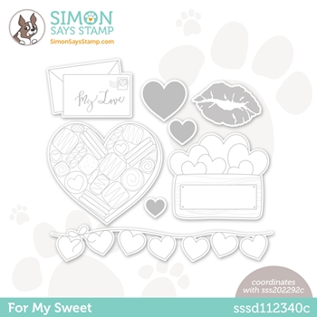 Simon Says Stamp FOR MY SWEET Wafer Dies sssd112340c
