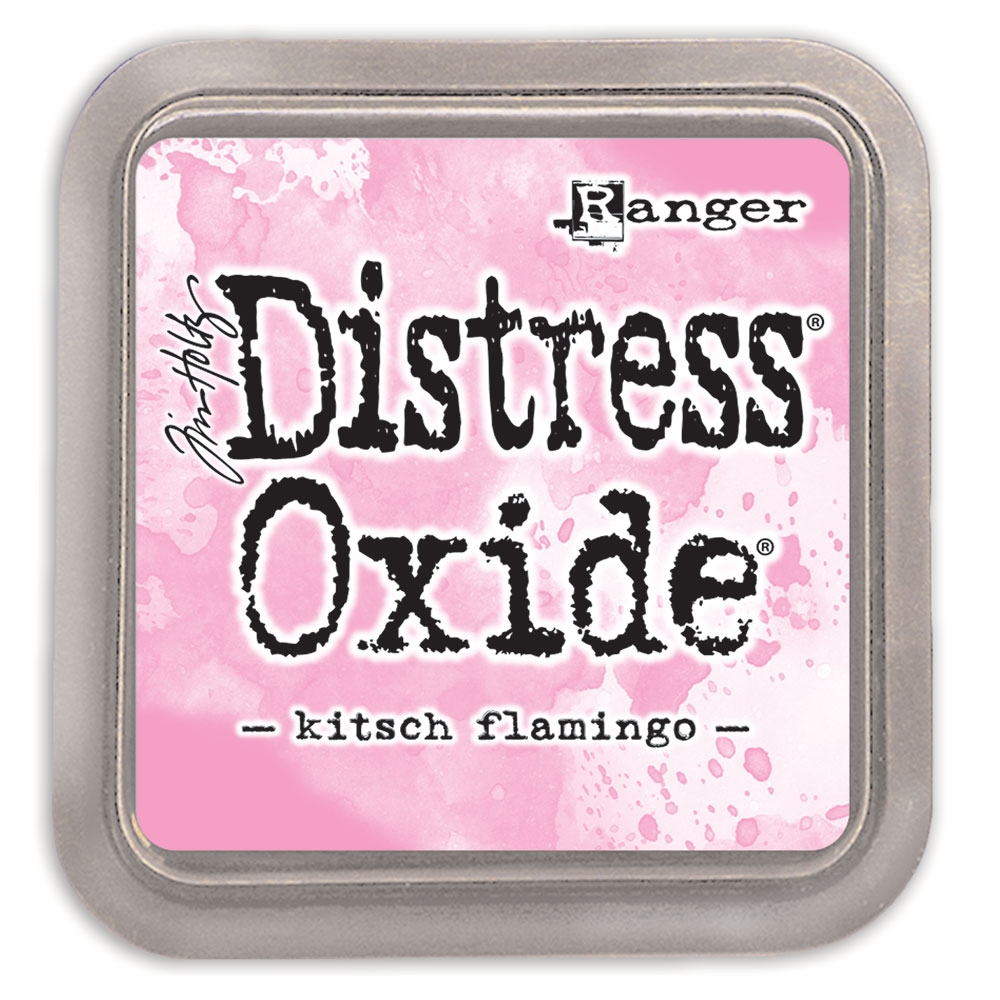 Tim Holtz Distress Oxide Ink Pad February 2021 New KITSCH FLAMINGO Ranger tdo72614 zoom image