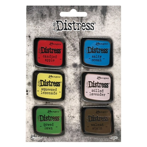 Tim Holtz Distress Enamel Pin SET 5 Ranger tdzs73475 Preview Image