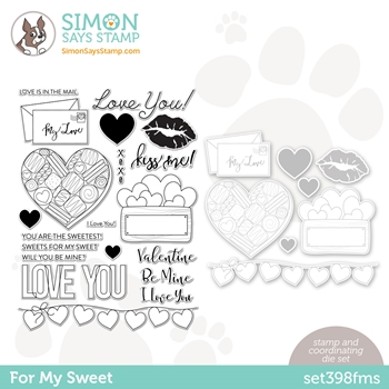 Simon Says Stamps and Dies FOR MY SWEET set398fms