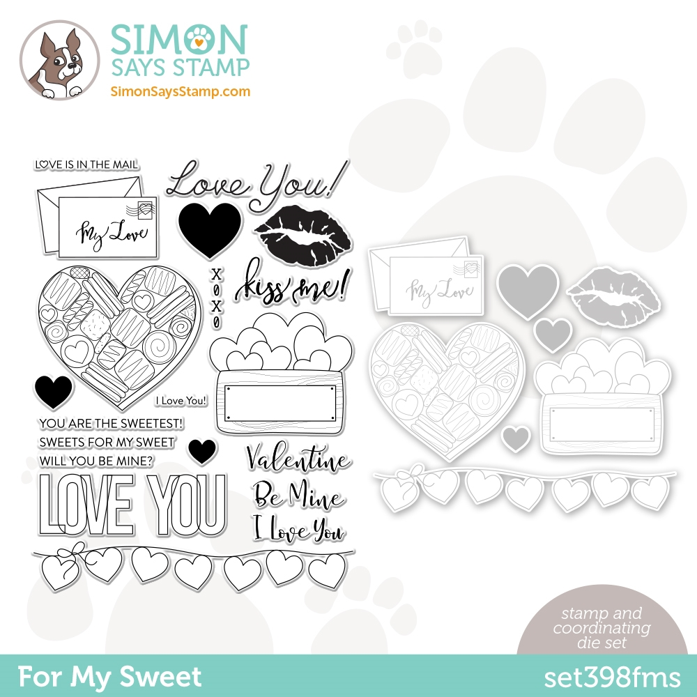 Simon Says Stamps and Dies FOR MY SWEET set398fms  zoom image