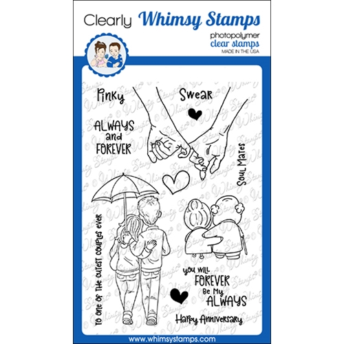 Whimsy Stamps ALWAYS AND FOREVER Clear Stamps CWSD357 Preview Image
