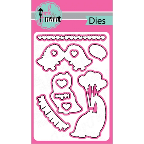 Pink and Main RAWR Dies PNM312 Preview Image