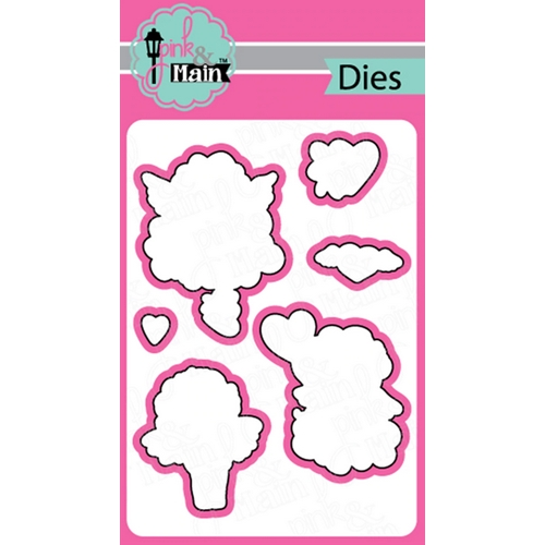 Pink and Main LITTLE CHERUBS Dies PNM316 Preview Image