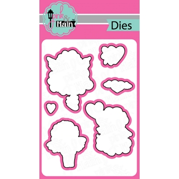 Pink and Main LITTLE CHERUBS Dies PNM316