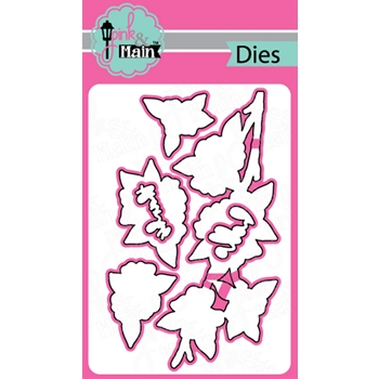 Pink and Main CHERRY BLOSSOM Dies PNM313