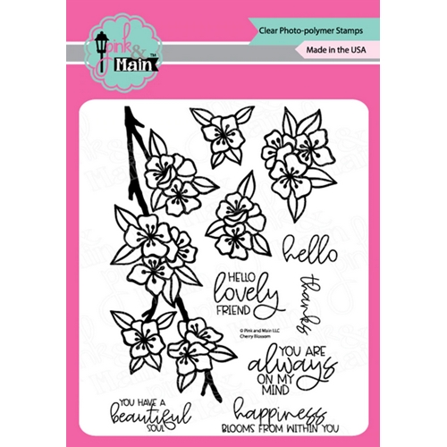Pink and Main CHERRY BLOSSOM Clear Stamps PM0438 Preview Image