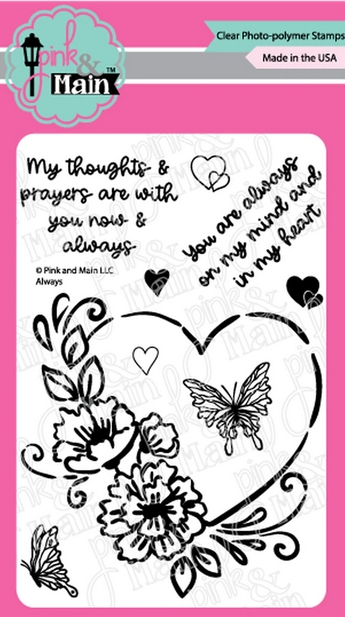 Pink and Main ALWAYS Clear Stamps PM0442 zoom image