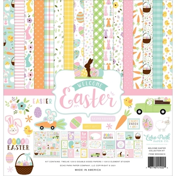 Echo Park WELCOME EASTER 12 x 12 Collection Kit wee236016