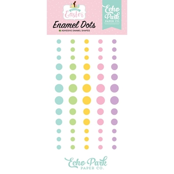 Echo Park WELCOME EASTER Enamel Dots wee236028