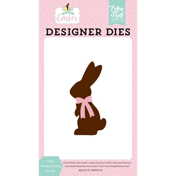 Echo Park TASTY CHOCOLATE BUNNY Die Set wee236040