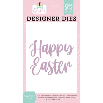 Echo Park HAPPY EASTER Die Set wee236041